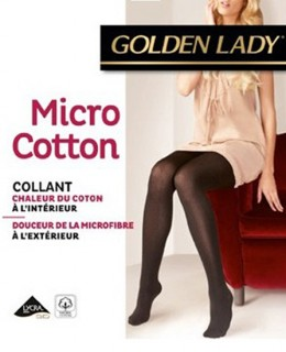 Collant hiver Micro Cotton de Golden Lady