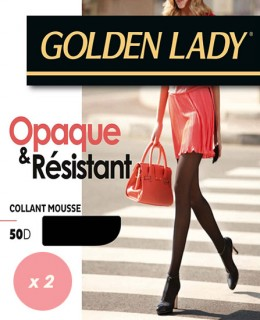 Lot collants mousse opaque