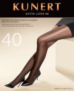 Collant Satin Look 40