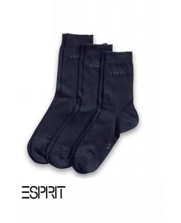 Lot 3 paires de chaussettes unicolores ESPRIT
