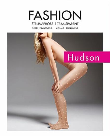 Collant fantaisie Love avec coeurs allover Hudson