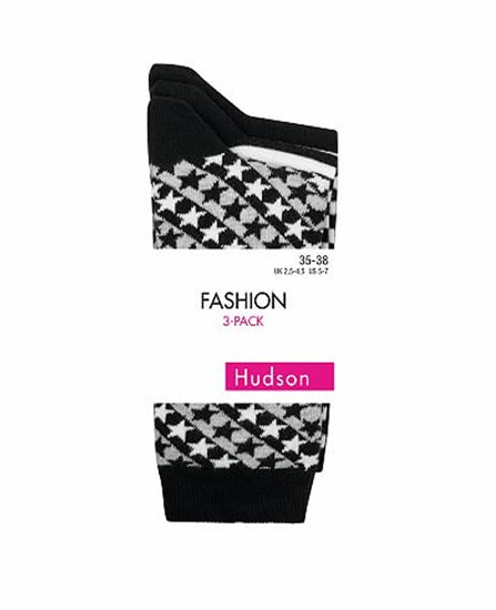 Lot 3 paires de chaussettes fantaisie Hudson sur collant.fr
