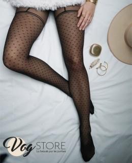 Collant jarretières Glamour de VOG Store