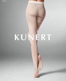 Collant résille et couture Charming de Kunert