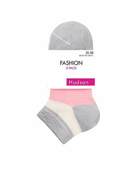 Lot 3 paires de chaussettes sneackers Hudson