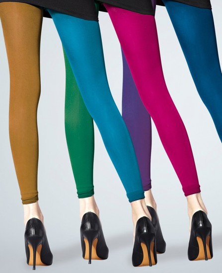 Legging opaque coloré Chacal