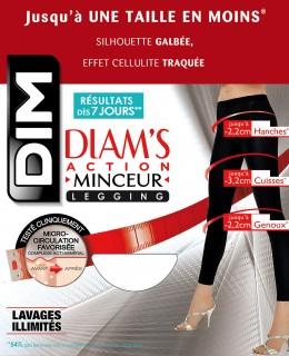 Pack Diam's Action Minceur : Legging + Bermuda