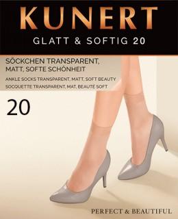Socquettes Glatt&Softig 20 de Kunert sur collant.fr