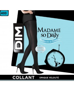 Collant Opaque Velouté Madame So Daily