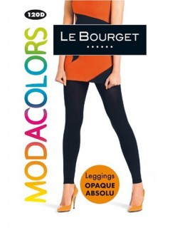 Legging noir Opaque Absolu 120D Modacolors