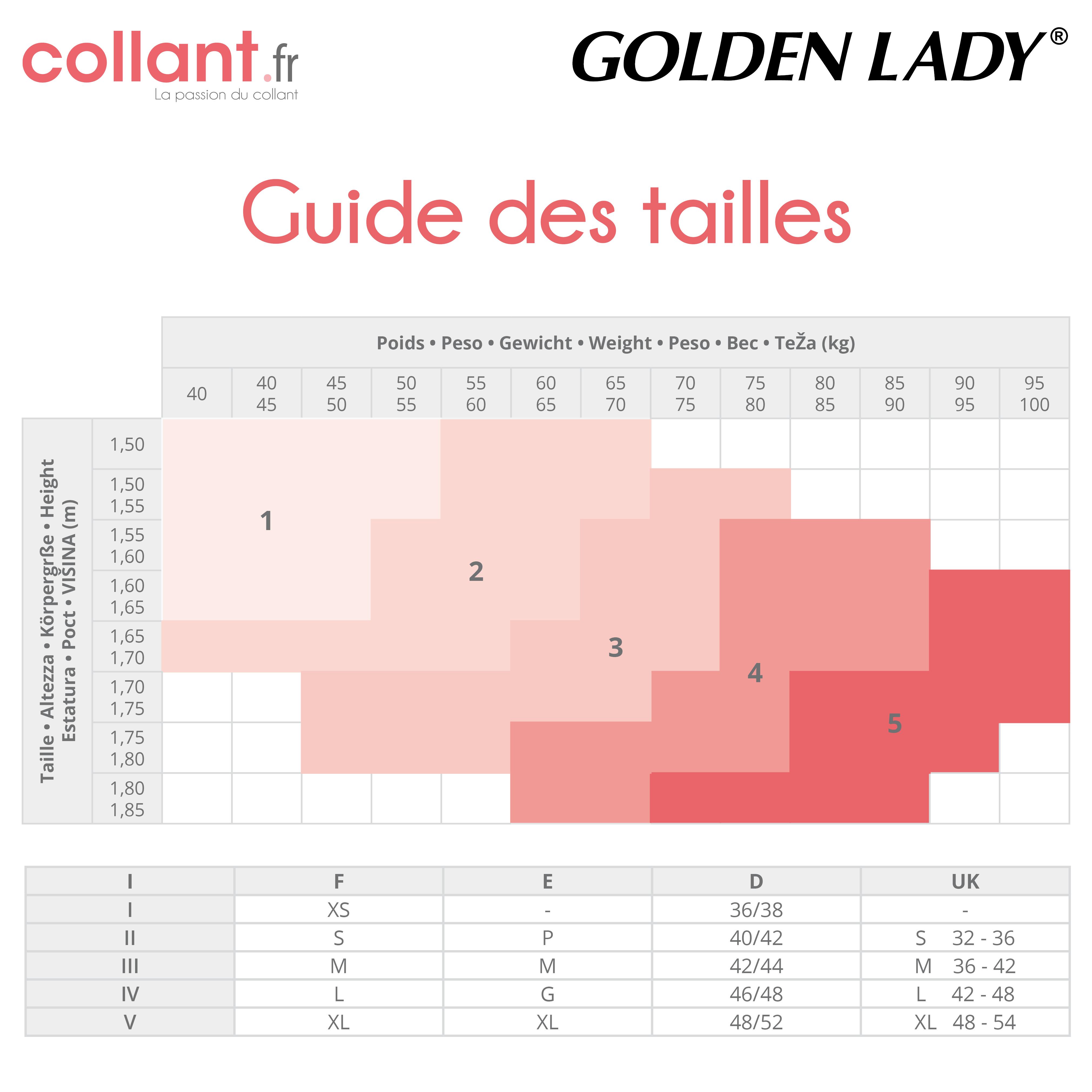 Collant Liberté Absolue Opaque de Golden Lady sur collant.fr d2aa701b697