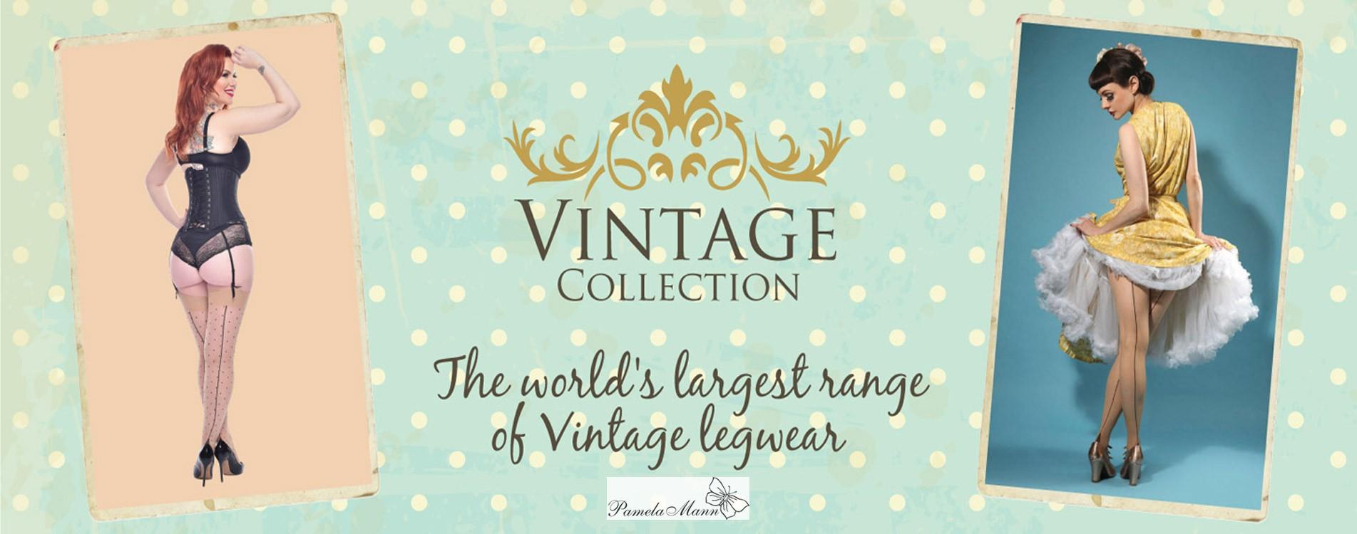 Les bas et collants vintage de Pamela Mann sur collant.fr