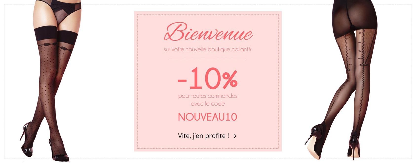 Bienvenue sur votre nouvelle boutique collant.fr !