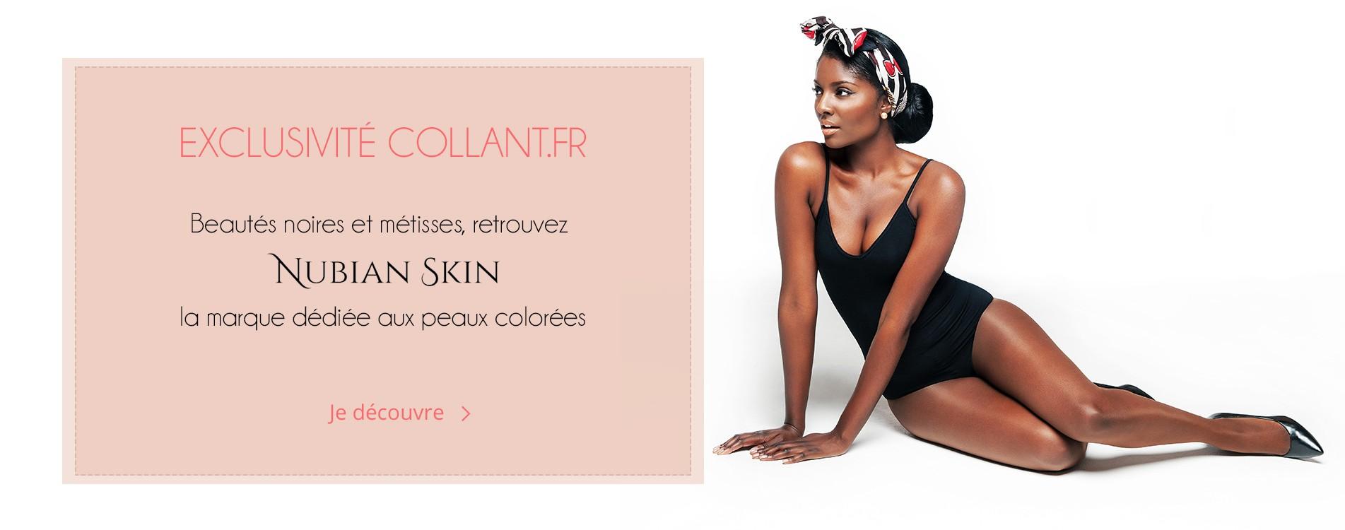 Découvrez en exclusivité la marque Nubian Skin sur collant.fr !