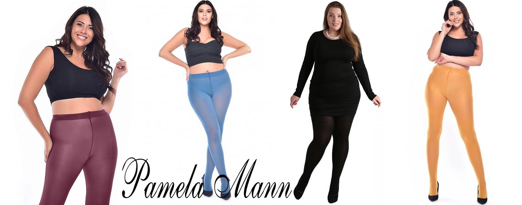 Les collants opaques grande taille de Pamela Mann sur collant.fr